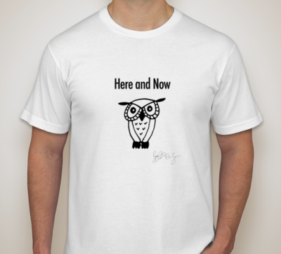 Here and Now Owl Shirt